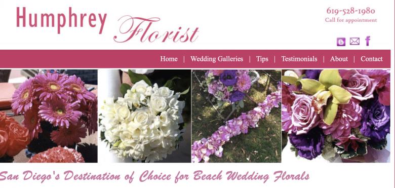 San Diego - điểm đến hàng đầu để tổ chức đám cưới hoa trên bãi biển