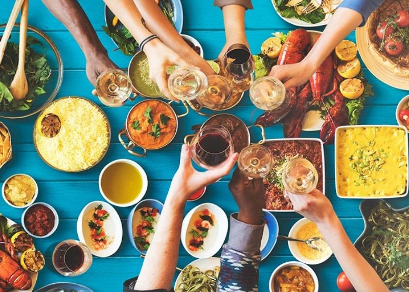 Cách giải đen lô đề bằng việc ăn uống